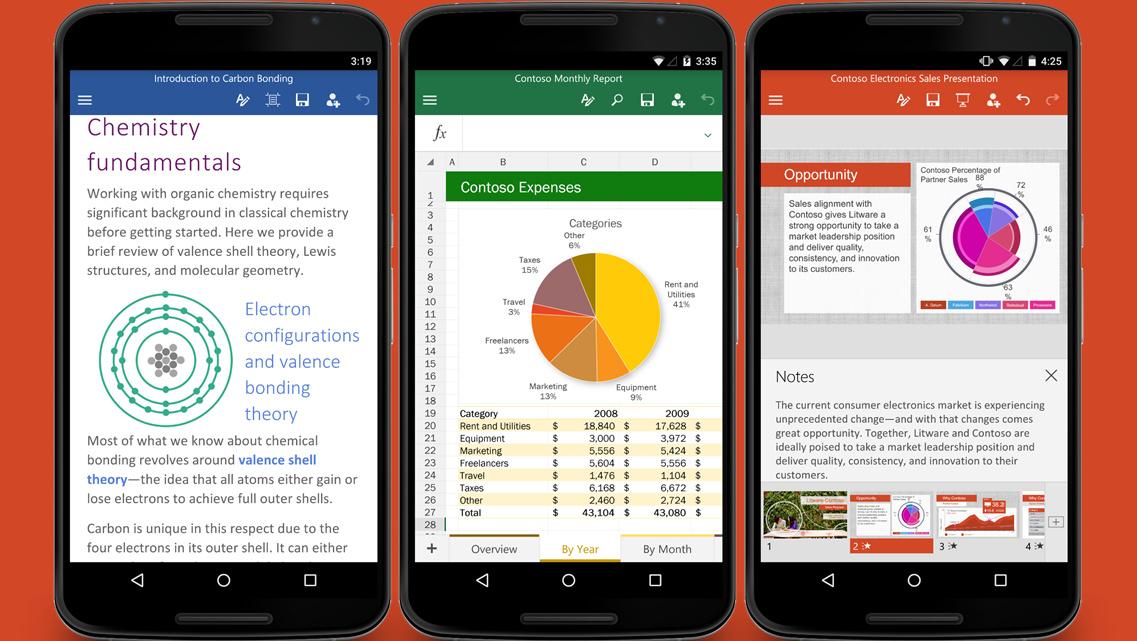 Android: Vorinstallierte Microsoft-Apps bei 74 Herstellern