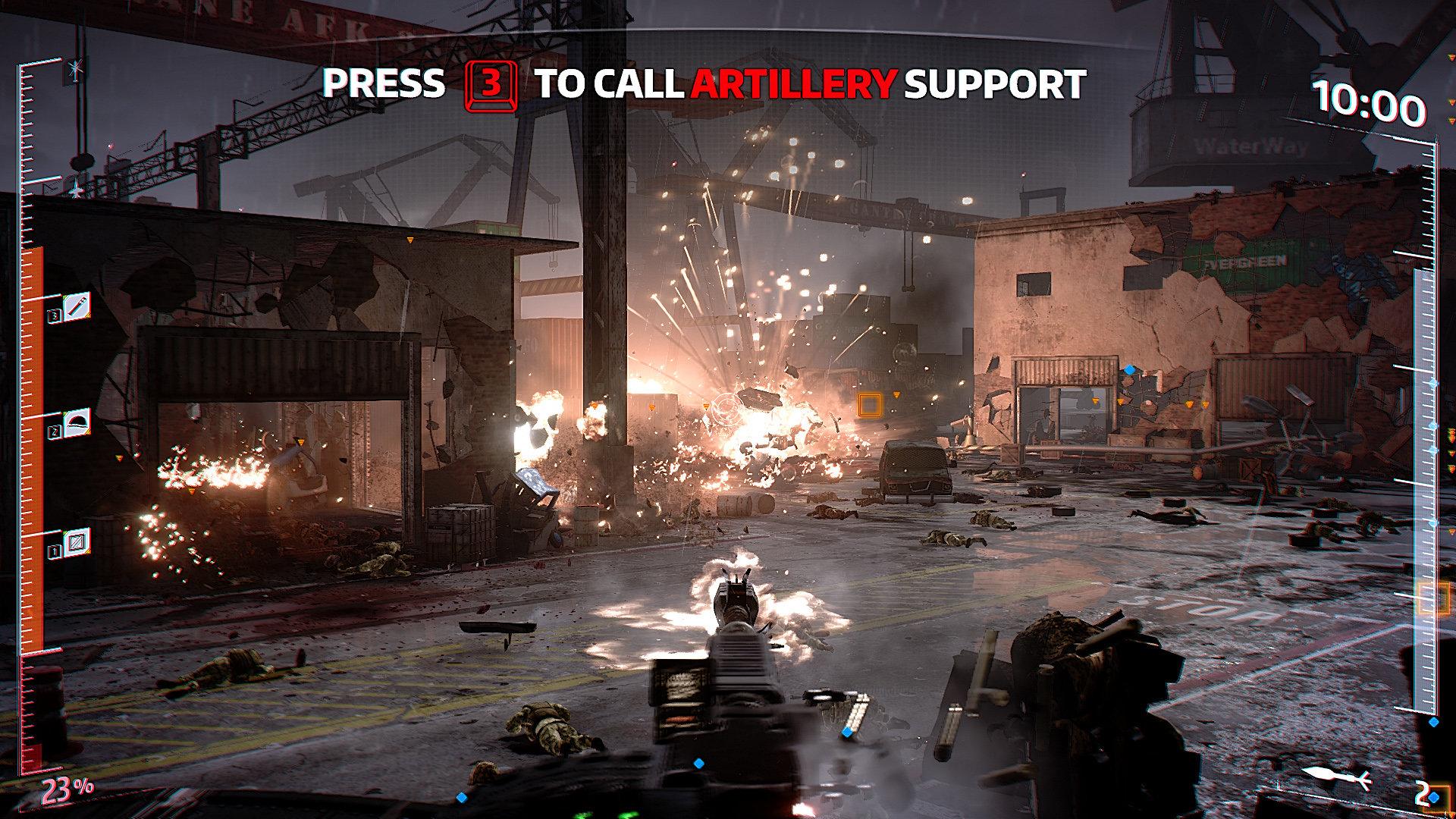 IS Defense: Screenshots