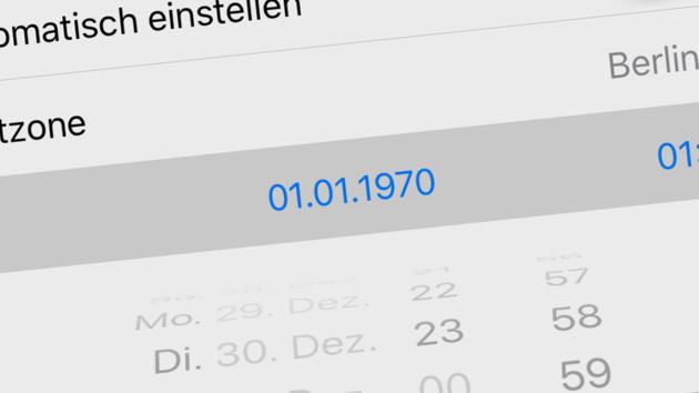 1.1.1970: iOS-Fehler soll 64-Bit-Geräte unbrauchbar machen