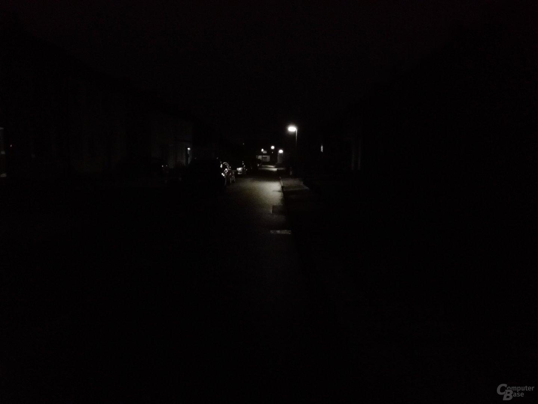 Huawei MediaPad M2 10.0 – Kamera-Test bei Dunkelheit