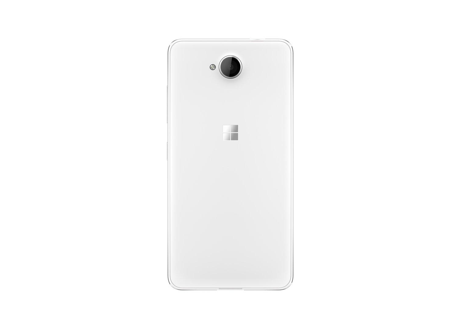 Das Lumia 650 in mattem Weiß