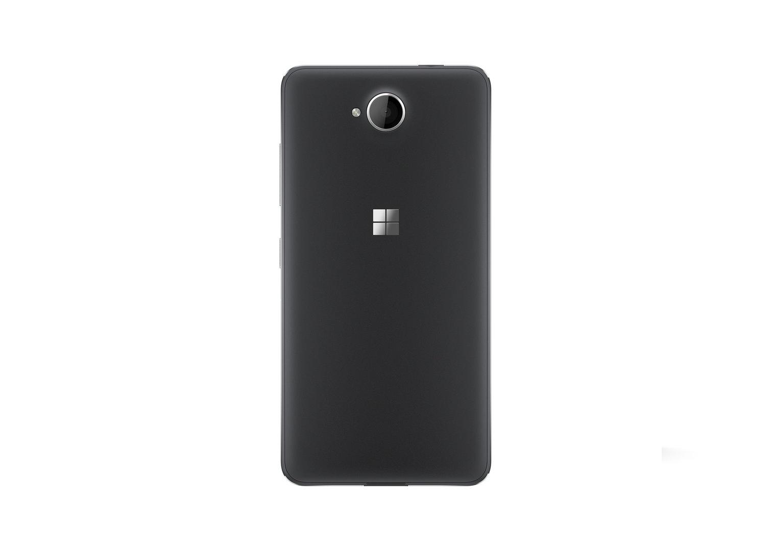 Das Lumia 650 in mattem Schwarz