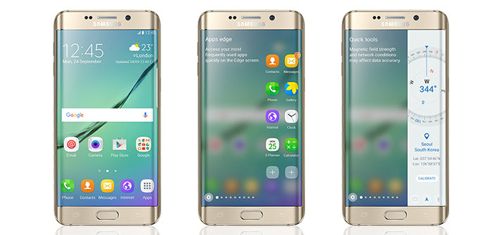Samsung Galaxy S6 edge mit Android 6.0