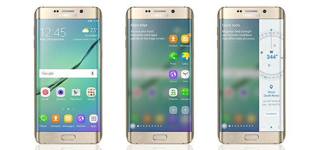 Samsung Galaxy S6 edge mit Android 6.0