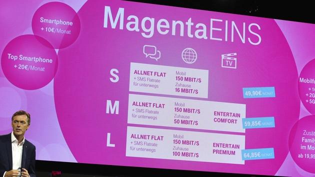 Magenta Eins 5.0: Neue Mobilfunktarife der Telekom sollen teurer werden