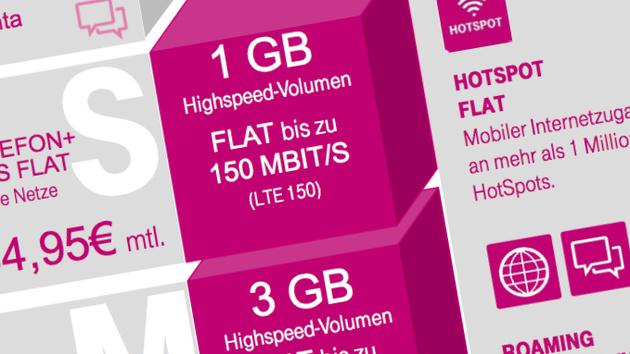 Telekom MagentaMobil: Neue Tarife mit EU-Flat und mehr Datenvolumen