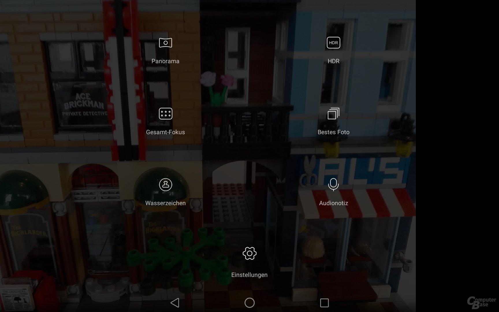 Kameraeinstellungen auf dem Huawei MediaPad M2 10.0