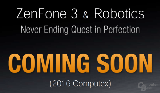 Asus ZenFone 3 zur Computex 2016