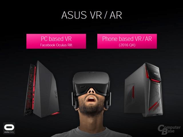 Asus VR sowohl für PC als auch Smartphones ab Q4 2016