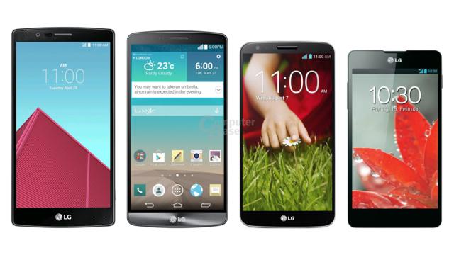 LG G4 bis Optimus G