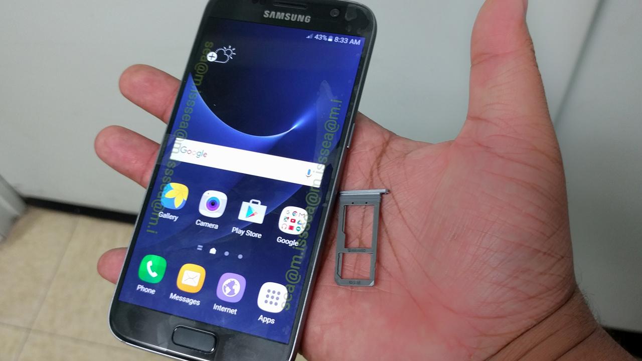 Samsung Galaxy S7: Weitere Fotos des Flaggschiffs erschienen