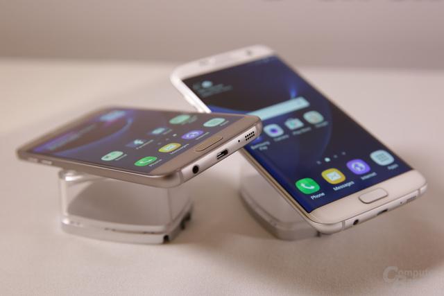 Das Galaxy S7 (edge) nutzt weiterhin Micro-USB 2.0