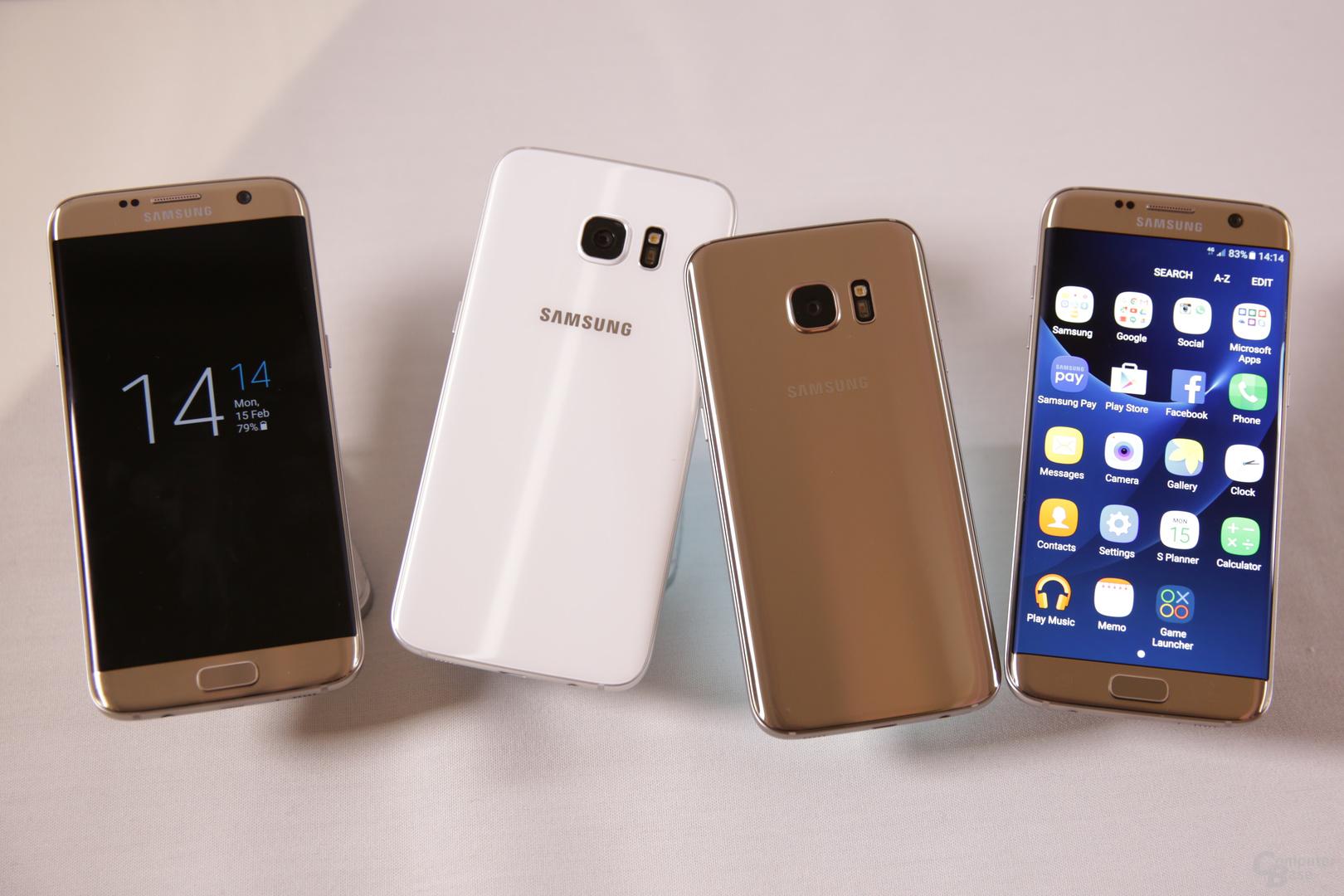 Das neue Galaxy S7 (edge) überzeugt in vielerlei Hinsicht