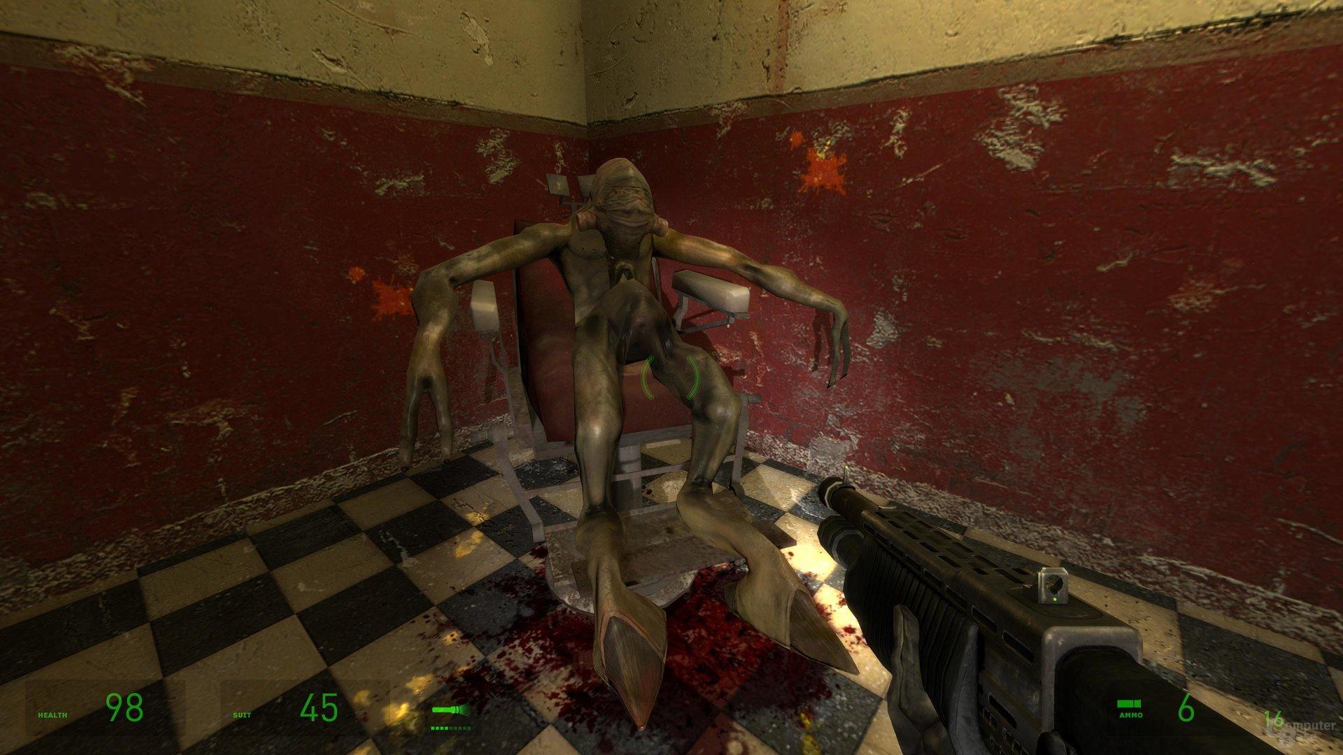 Der einzige Gefangene in Nova Prospect ist so tot wie das Spiel
