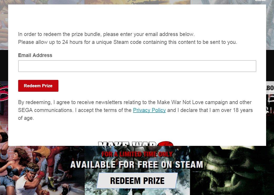Die Steamcodes werden an die eingegebene E-Mail-Adresse versendet