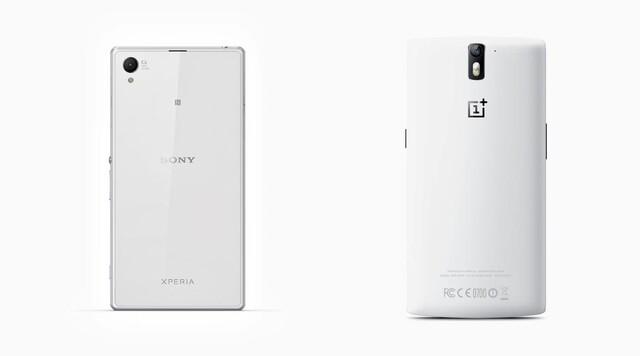 Sony Xperia Z1 und OnePlus One