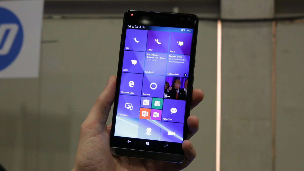HP Elite X3 Ersteindruck: Business-Smartphone mit Windows 10 wird zum Laptop