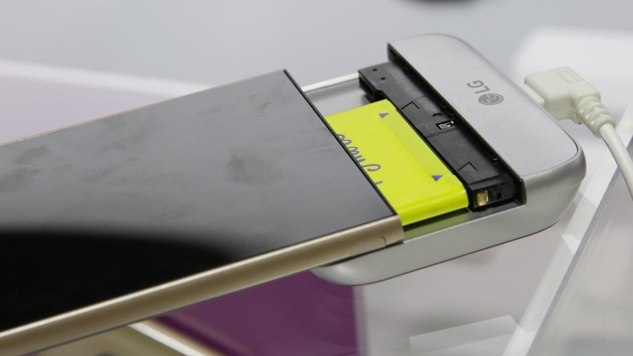 LG G5 ausprobiert: Smartphone mit Schublade hinterlässt guten Eindruck