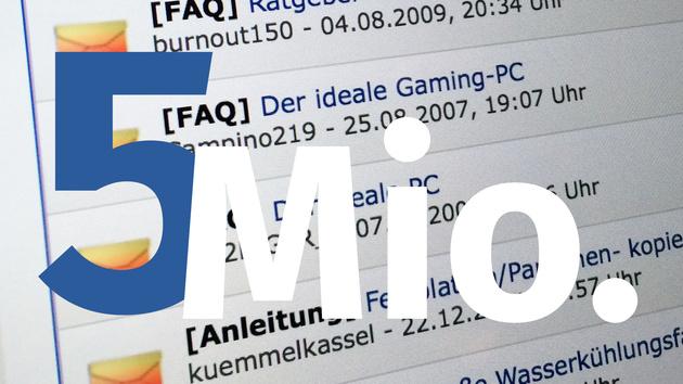 """Community: 5 Millionen Ansichten für die FAQ """"Der Ideale Gaming-PC"""""""