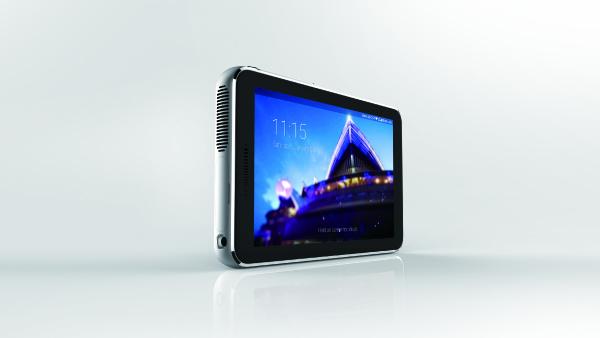 ZTE Spro Plus: Android-Tablet mit Laser-Beamer und AMOLED-Display