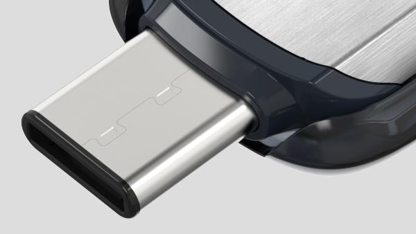 SanDisk Ultra: Erster USB-Stick für Typ C mit bis zu 128 GB