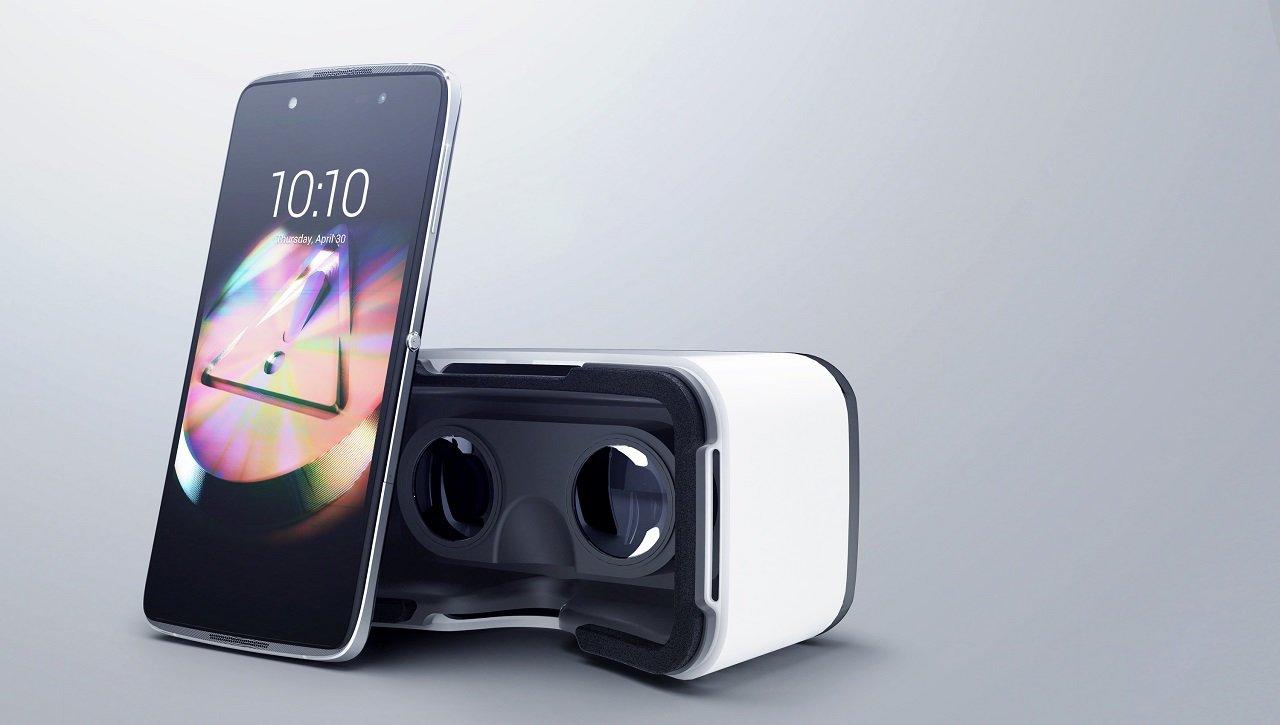 Alcatel Idol 4 mit VR-Brille