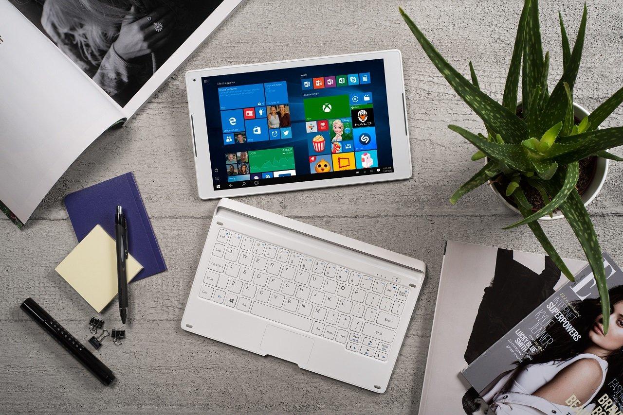 Alcatel Plus 10 mit Tastaturdock