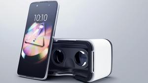 Alcatel Idol 4 & Plus 10: Smartphone mit VR-Brille und Tablet samt LTE-Tastatur