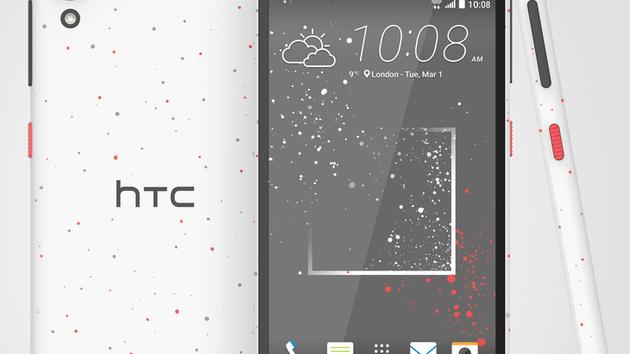 HTC Desire 530, 630 und 825: Neue Modelle für das untere und mittlere Preissegment
