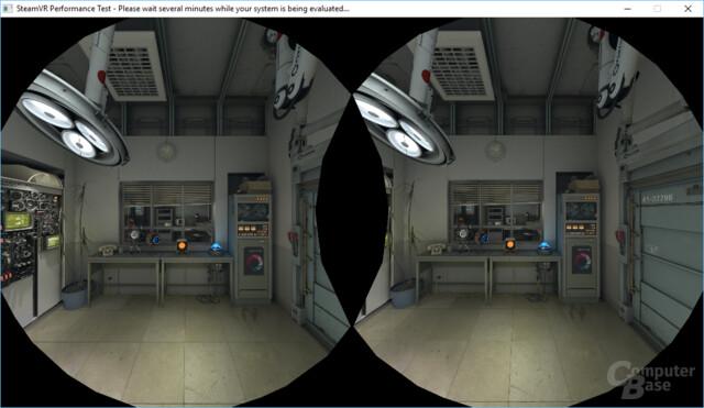 Die Testsequenz mit Roboter Atlas aus Portal 2