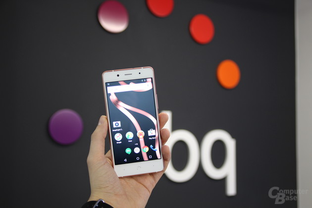 BQ Aquaris X5 Plus auf dem MWC