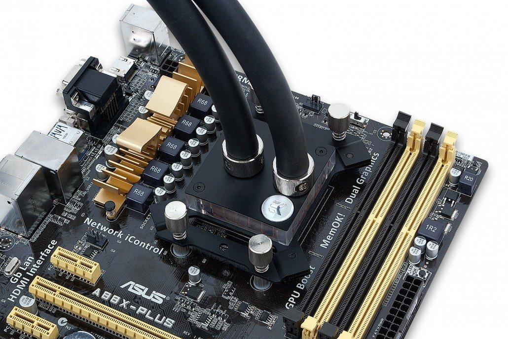 EK-XLC Predator auf einer AMD-CPU