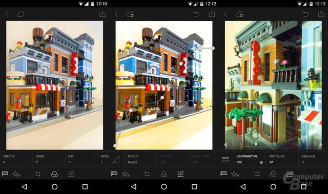 Lightroom 2.0 für Android – Neue Werkzeuge zur Bildbearbeitung