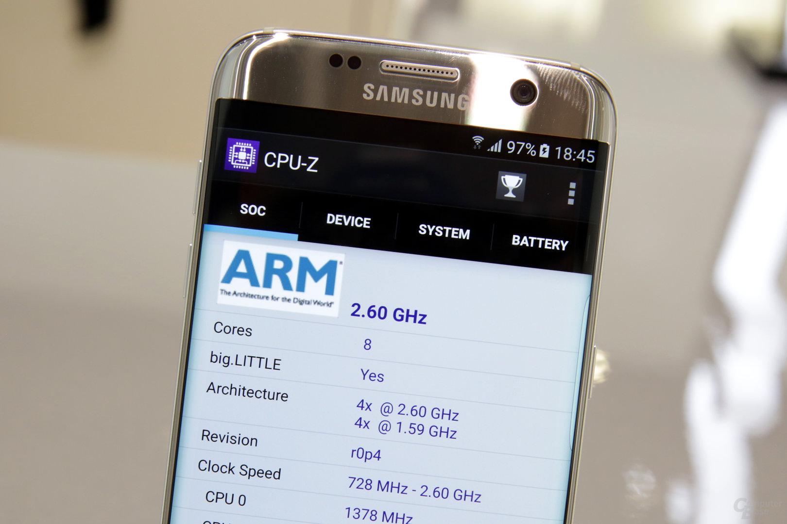 Exynos 8890 im Galaxy S7 (edge)
