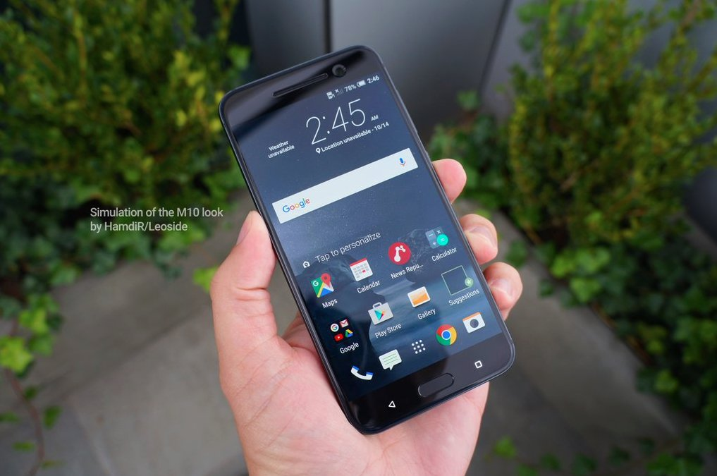 HTC Perfume Frontansicht