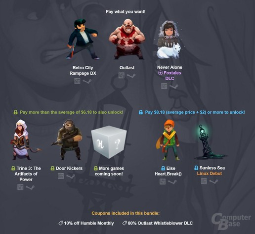 Ein gutes Angebot: Humble Indie Bundle 16