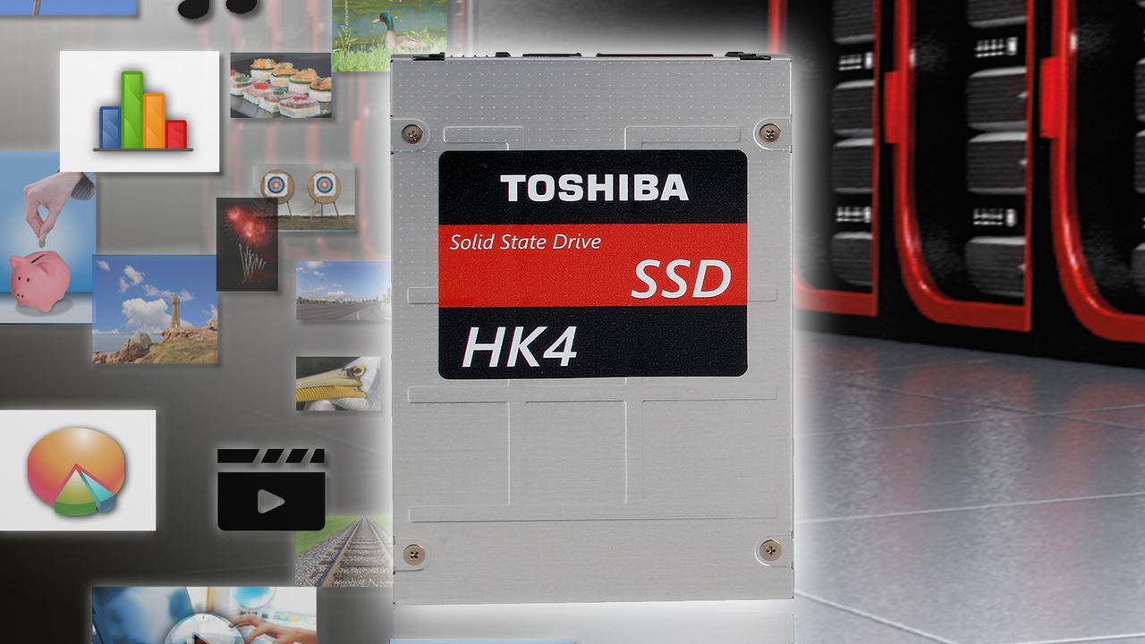 Toshiba HK4: 15-nm-MLC-NAND hält Einzug in Enterprise-SSDs