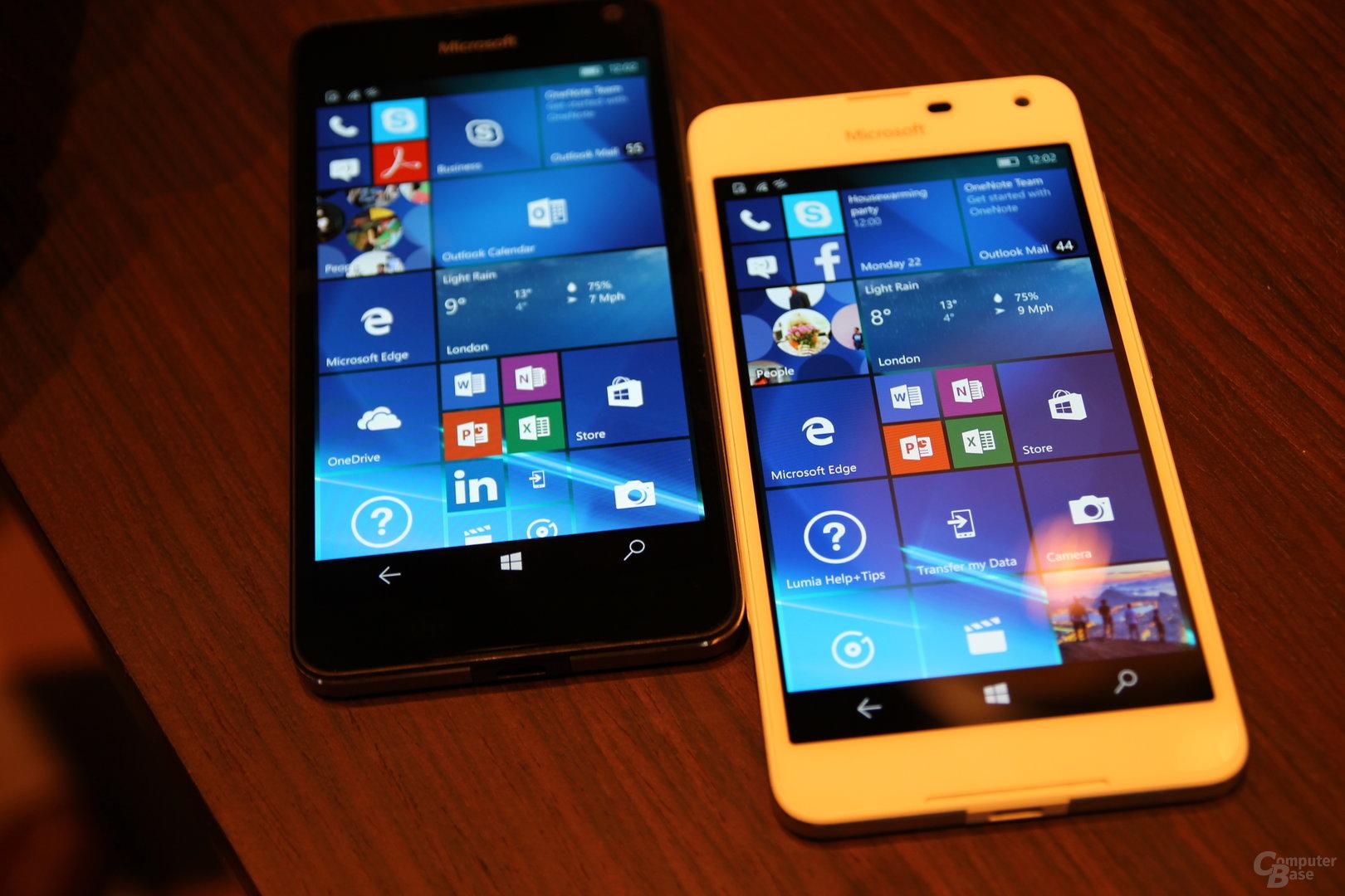 Microsoft Lumia 650 auf dem MWC 2016