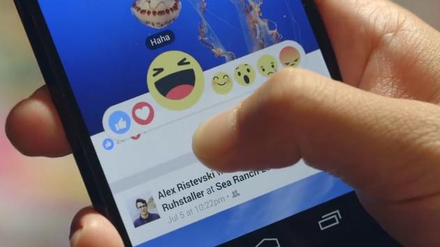 """Facebook Reactions: Erweiterung des """"Gefällt-mir""""-Buttons verfügbar"""