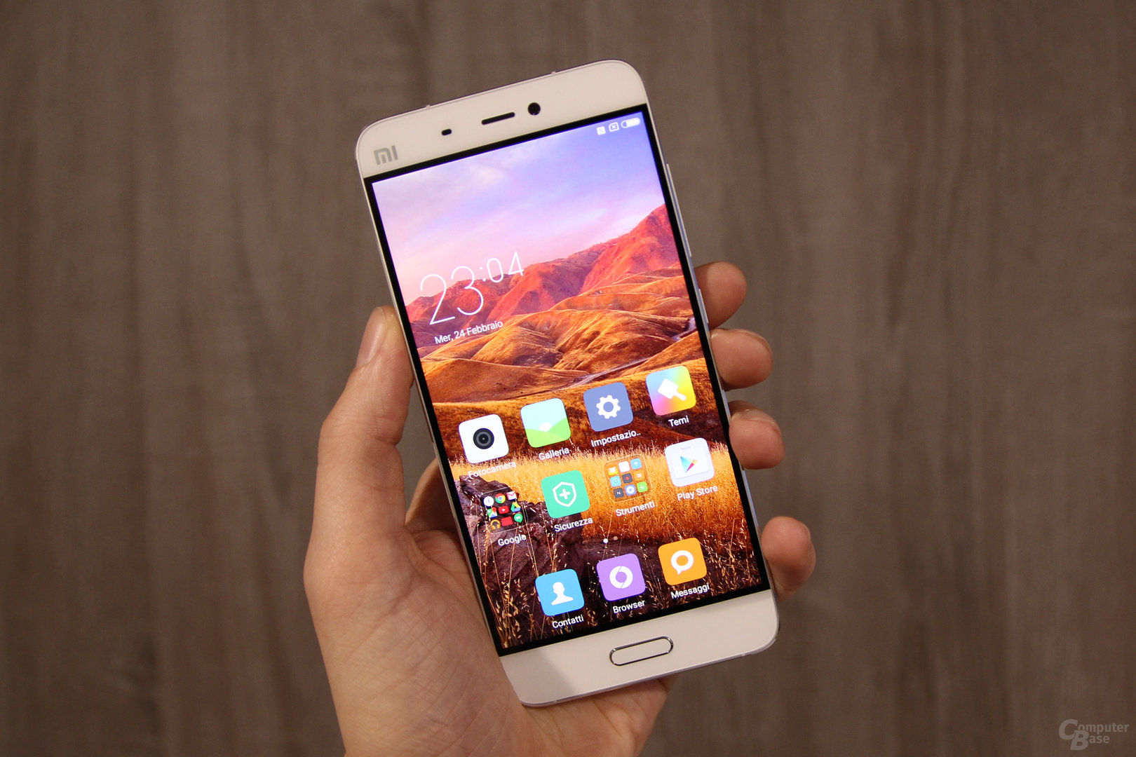 Xiaomi Mi5 auf dem MWC 2016