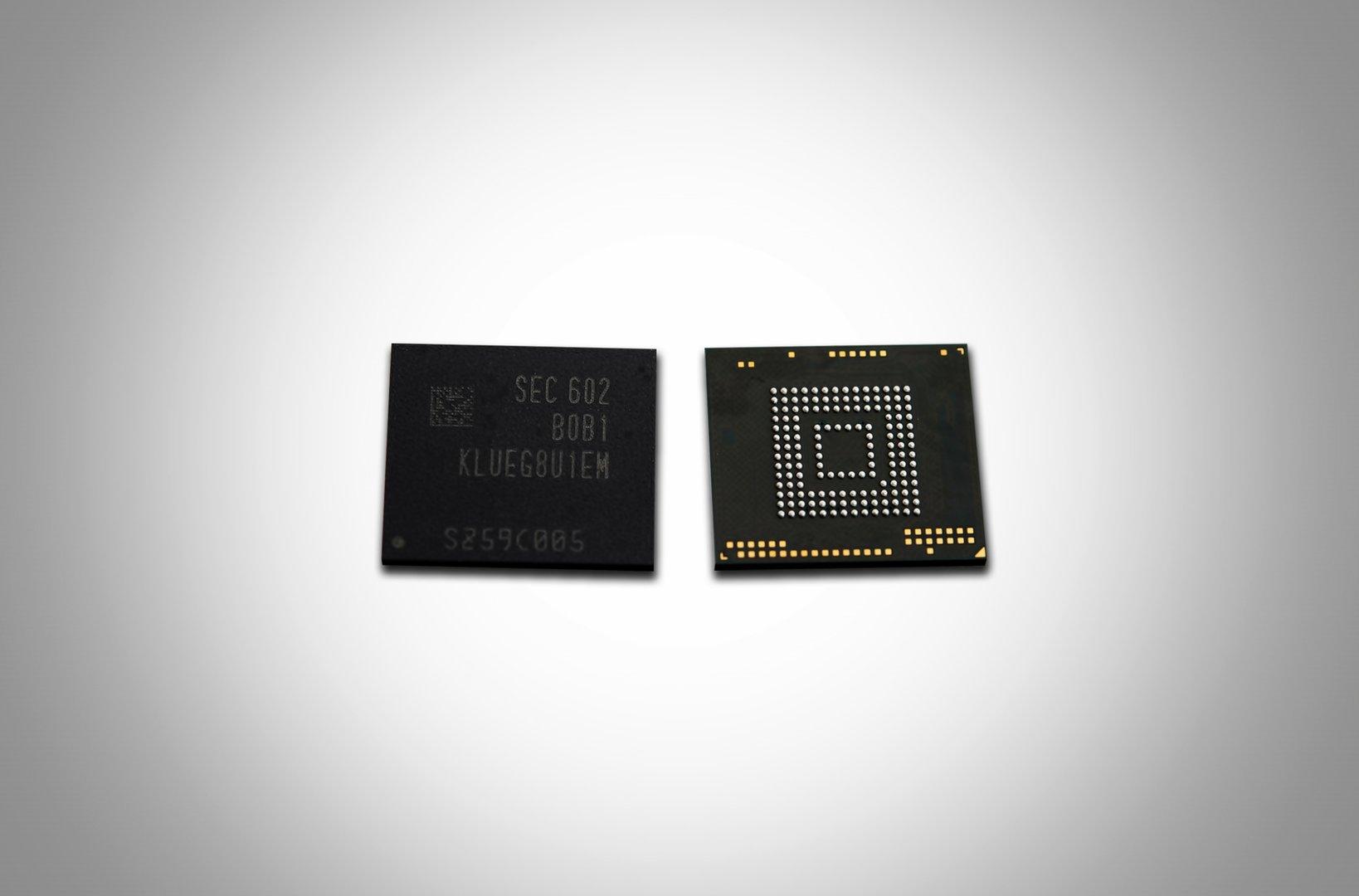 UFS-2.0-Speicherchips mit 256 GByte von Samsung
