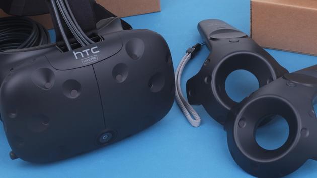 Neu in der Redaktion: HTC Vive Pre für SteamVR von Valve