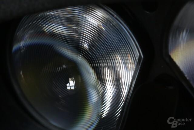 Die Struktur der Fresnel-Linse