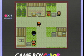 Pokémon Gold auf dem GameBoy Color