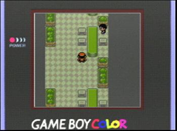 Pokémon Gold auf dem GameBoy Color
