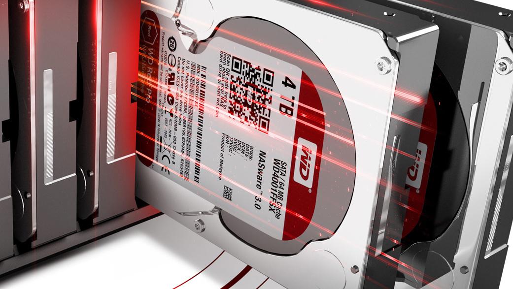 Festplatten: WD Red (Pro) und WD Purple erhalten 8 TB und Helium