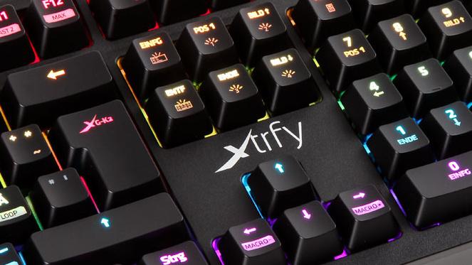 Spieletastatur: Xtrfy K2 lässt sich softwarelos konfigurieren