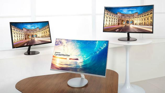 CF390 und CF591: Samsungs gebogene VA-Monitore kommen im März