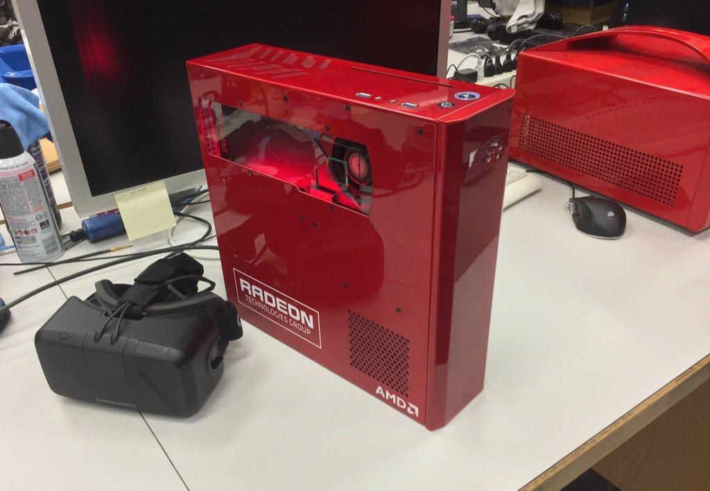 DirectX12-VR-Developer-Box mit Radeon-Grafikkarte
