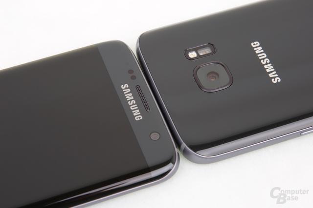 Das Galaxy S7 edge ist ein gespiegeltes Galaxy S7